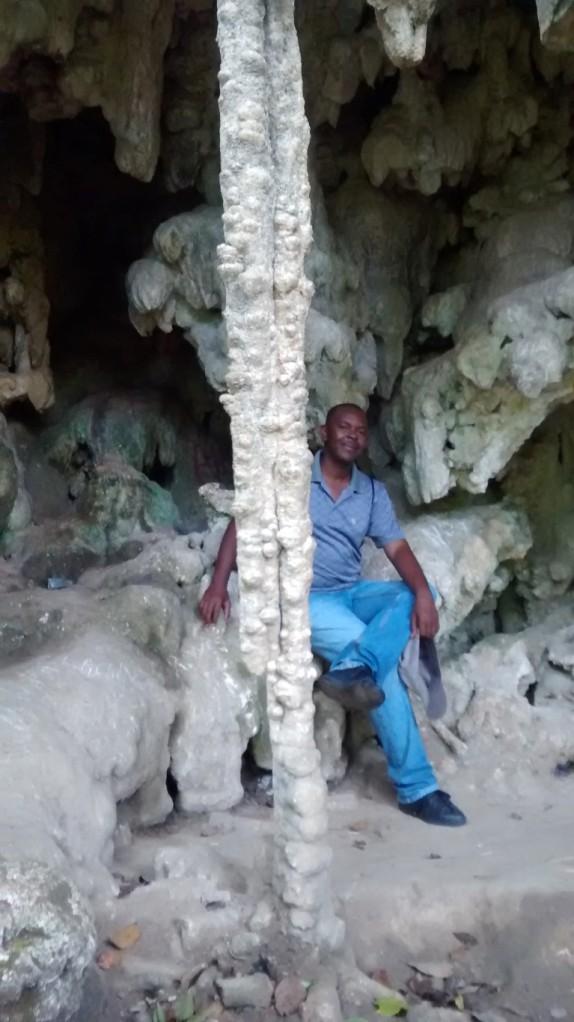 "Herodion in ""the voodoo cave"""
