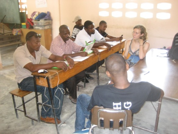 Meeting to review the Haiti Course Guide